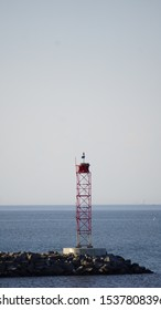 Steel Lighthouse Cape May Lewes Viewpoint Mariners warning system and navigation aid