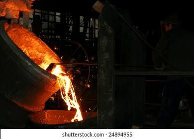 Steel making