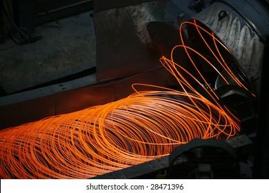 steel making in steel plant, turkey