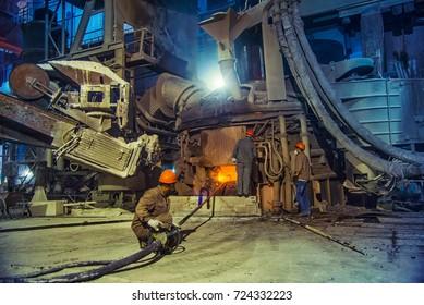 Steel making workshop