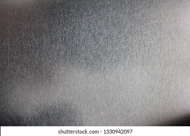 Steel material and grunge shiny texture background of grey stainless surface. Seamless blank metal canvas pattern, top view
