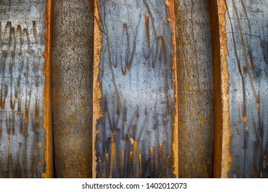 Steel metal repeating pattern texture of iron aluminum like materials