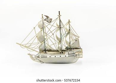 steel pirate ship