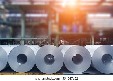 Steel plant rolled steel products, followed by the virtual factory workshop
