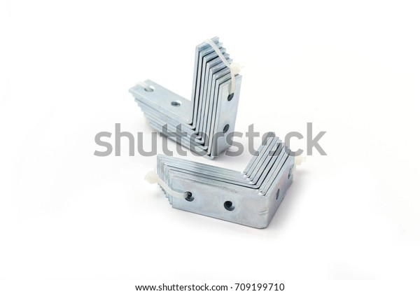 Steel Plate Angle Bar Small Shelf Stock Photo (Edit Now) 709199710
