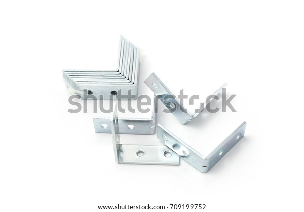 Steel Plate Angle Bar Small Shelf Stock Photo (Edit Now) 709199752