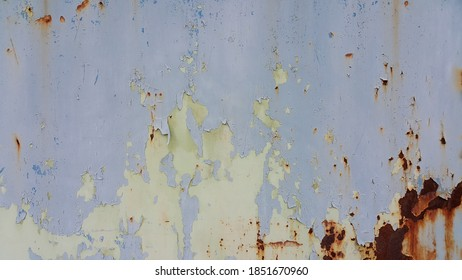 Steel plate door surface , old rust texture