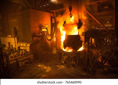 steel production in electric arc furnace