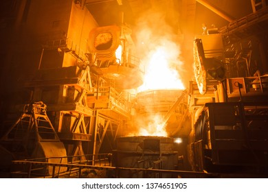steel production in electric furnaces.