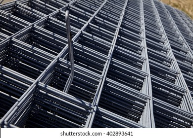 steel rebar and mesh for concrete reinforcing construction building industry
