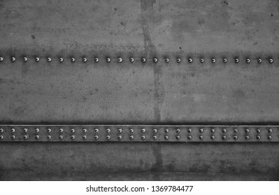 Steel and rivets Construction of a bridge - Industrial design