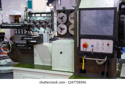 Steel rod bending on CNC Bending Machine bend