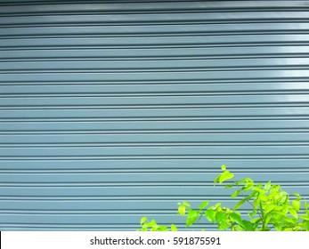 steel rolling shutter background F