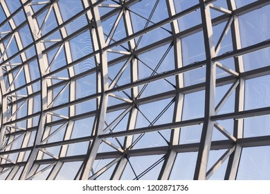 Steel Roof construction Modern Architecture detail