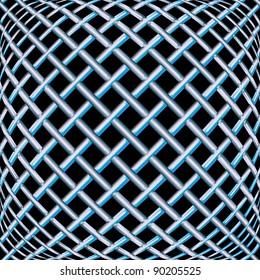 steel seamless texture, abstract pattern; art illustration