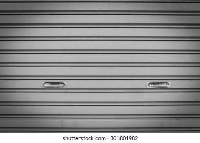 Steel sliding doors , Metal sheet slide door texture