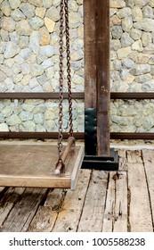 steel swing in loft style