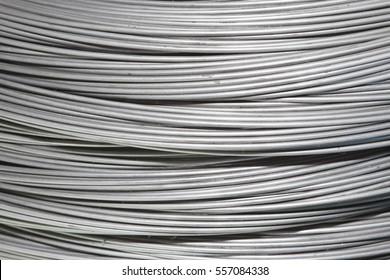 steel wire coils background