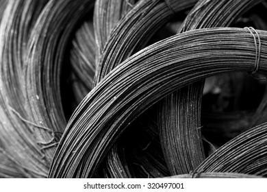 Steel wire rolls