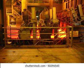 Steel-rolling section