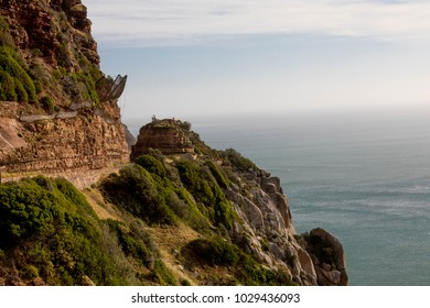 Steep Cliff Next to the Shore