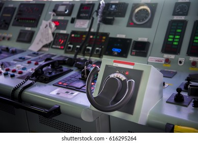 steering control  in tanker ship