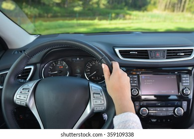 steering wheel and other devices of  car