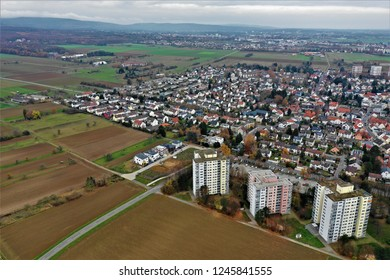 Steinbach in Germany from above