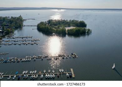 Steinhuder Meer, Lower Saxony, Germany  - Shutterstock ID 1727486173