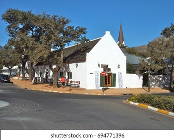 STELLENBOSCH, SOUTH AFRICA - MAY 1: Stellenbosch is a university town in South Africa's Western Cape province, in Stellenosch, South Africa, May 1, 2010.