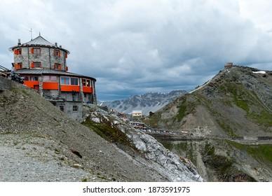 Stelvio Pass Hut, Passo dello Stelvio - Shutterstock ID 1873591975