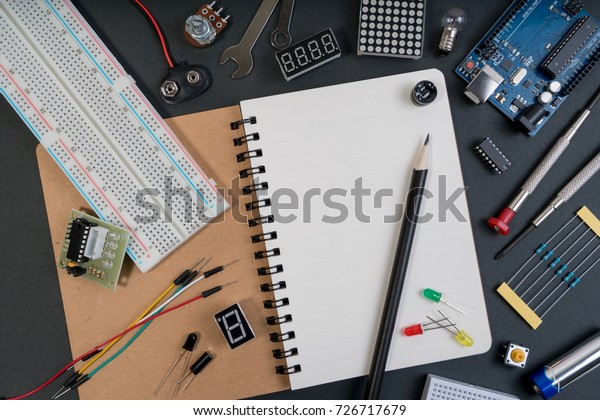 Stem Diy Electronic Kit Line Tracking Stock Photo (Edit Now) 726717679