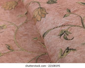 Stem pattern background cloth