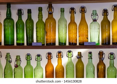 Stenay, France - 06/25/2019 : European beer museum of Stenay, in Lorraine