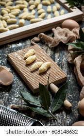 Step by step gnocchi making process. See series.