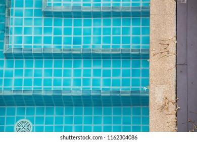 step inside swimming pool