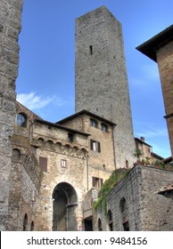 Step into San Gimignano and you step into medieval Italy. The quaint Tuscan town, set 334 meters above sea level, against a background of deep green hills, is almost an anachronism in today's world.