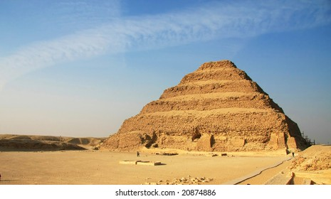 step pyramid, the oldest pyramid in the world