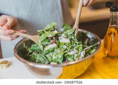 Step-by-step recipe for festive salad without meat - dietary dish-vegetable salad