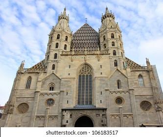 Stephansdom church in Vienna