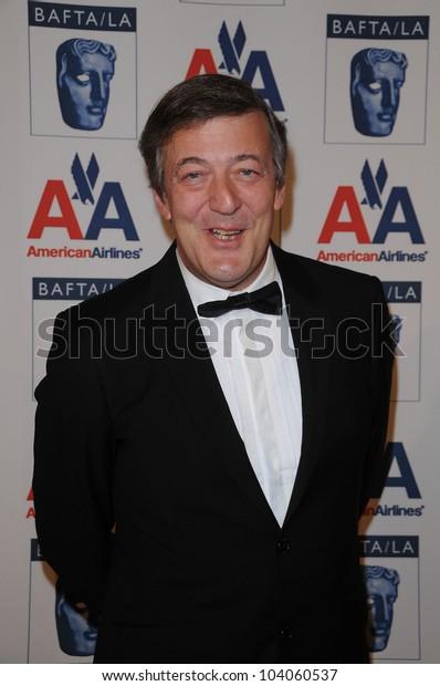Stephen Fry  at the 18th Annual BAFTA/LA Britannia Awards, Hyatt Regency Century Plaza Hotel, Century City, CA. 11-05-09