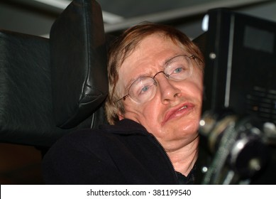 Stephen Hawking, CH, CBE, FRS, FRSA.English theoretical physicist, cosmologist, author and Director of Research at the Centre for Theoretical Cosmology at the University of Cambridge. 2 / 9 / 2002