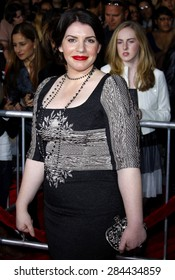 Stephenie Meyer at the Los Angeles premiere of 'The Twilight Saga: New Moon' held at the Mann's Village Theatre in Westwood on November 16, 2009.