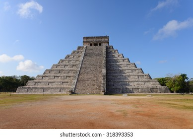 The stepped pyramids, temples, columned arcades, and other stone structures of Chichén Itzá were sacred to the Maya and a sophisticated urban center of their empire from A.D. 750 to 1200.