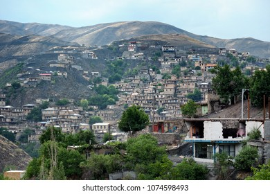 Stepped village of Kang, located in the mountains of Razavi Khorasan province, north eastern Iran