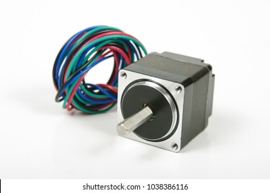 Stepper or stepping motor for precise movement used in cnc