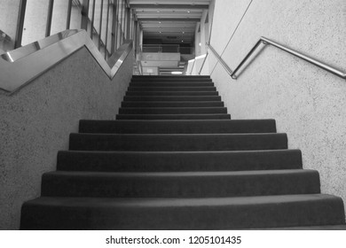 Stepping up (stairs)
