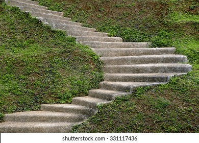 stepping stone stair