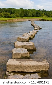 Stepping Stones across Ogmore River, Wales