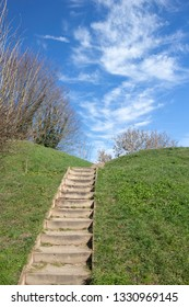 Steps in Bergues, Nord Pas de Calais, France